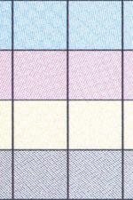 Рис. 5. Цветопробные оттиски с результатами рипования в различных режимах: слева - contract proof, в центре - contract proof (optimize speed), справа - imposition proof